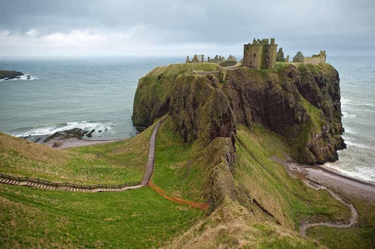 most beautiful fairytale castles in europe dunnottar castle scotland