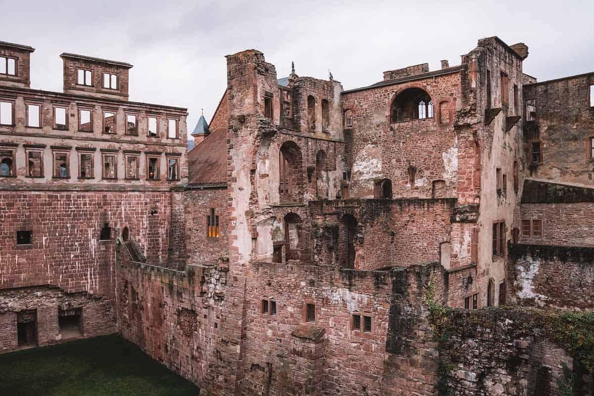 most beautiful fairytale castles in europe heidelberg castle germany
