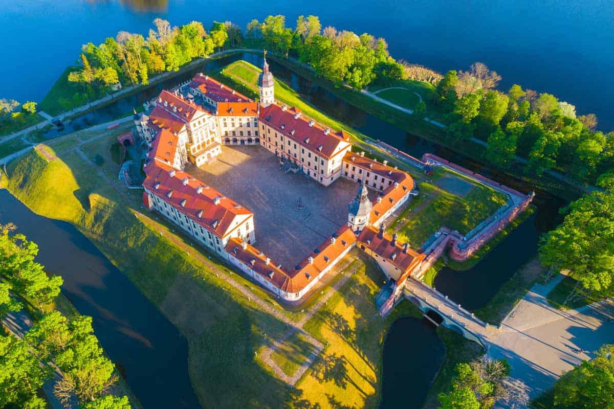most beautiful fairytale castles in europe nesvizh castle belarus