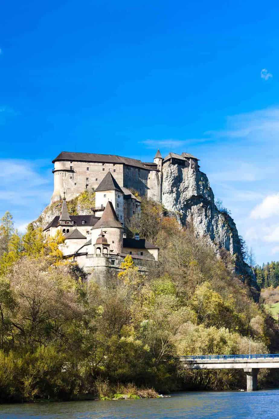 most beautiful fairytale castles in europe orava castle slovakia