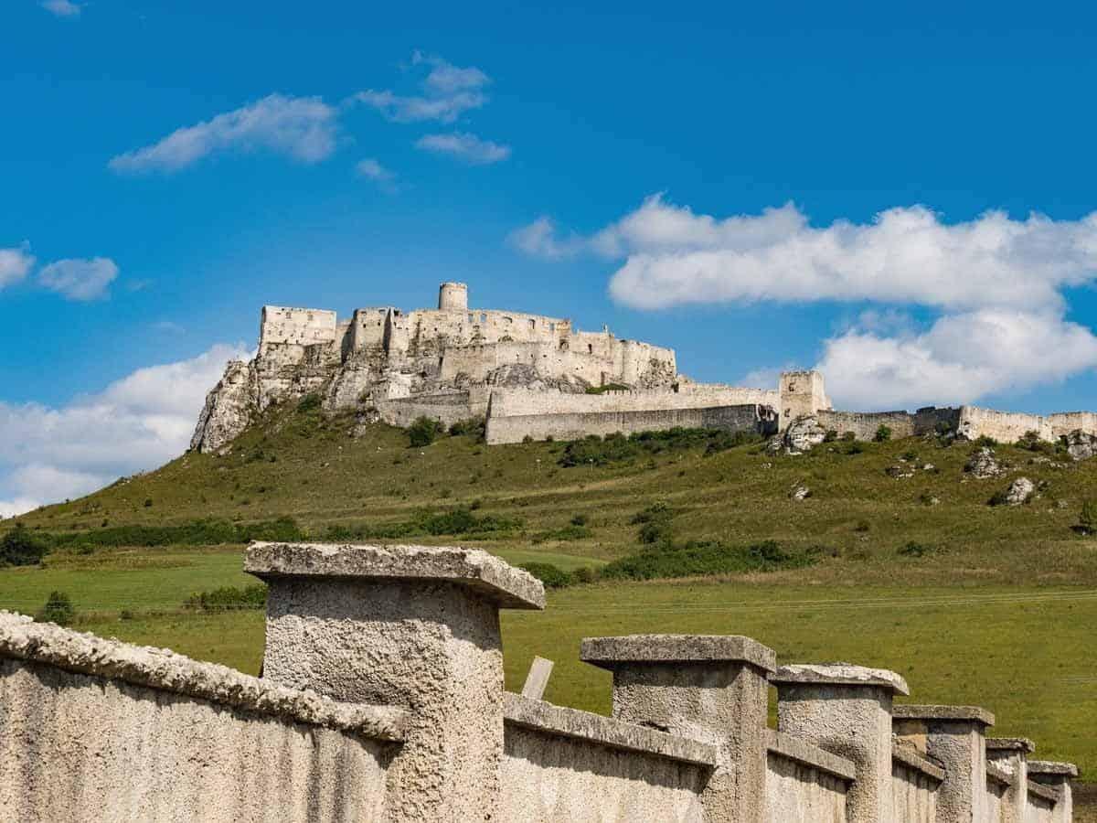 most beautiful fairytale castles in europe spis castle slovakia