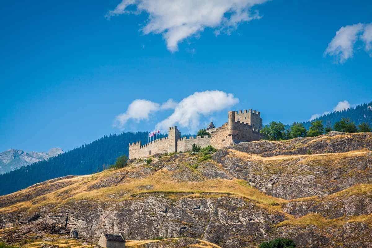 most beautiful fairytale castles in europe tourbillon castle switzerland