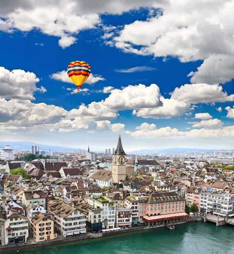 Zurich, Switzerland – most expensive cities in europe that are still worth the visit