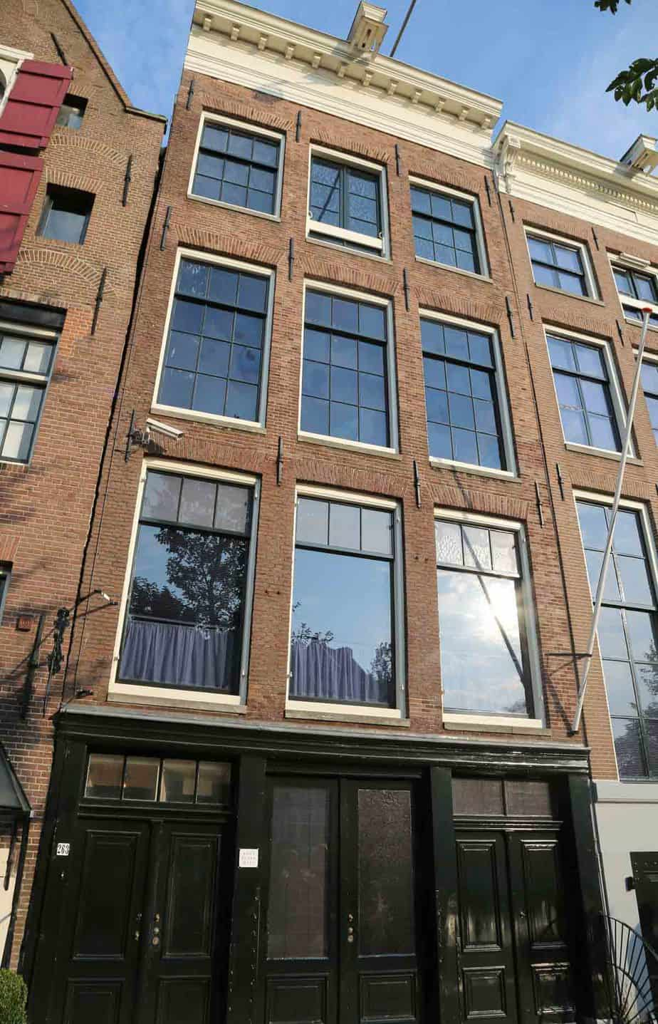 most visited tourist attractions in europe anne frank house amsterdam netherlands