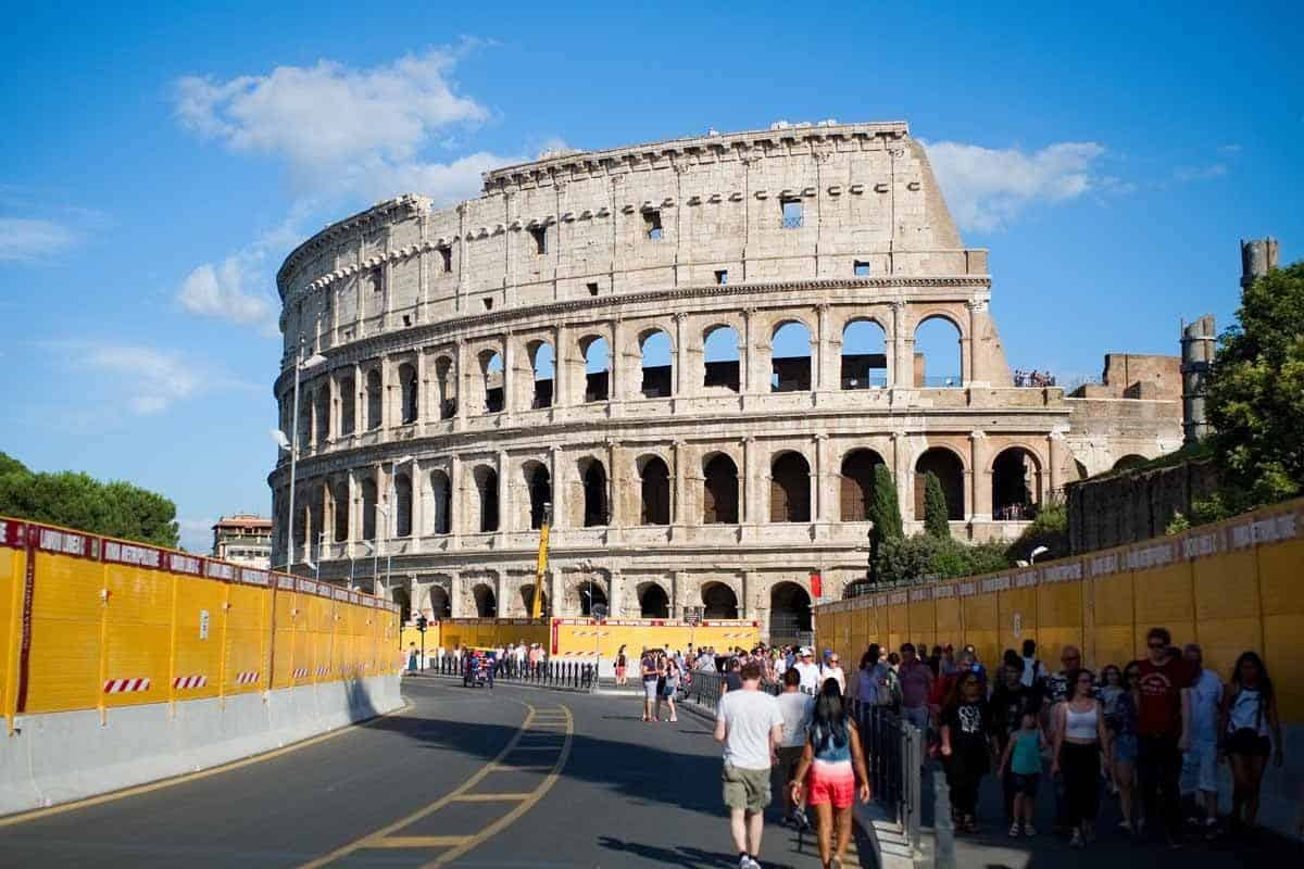 most visited tourist attractions in europe colosseum rome italy