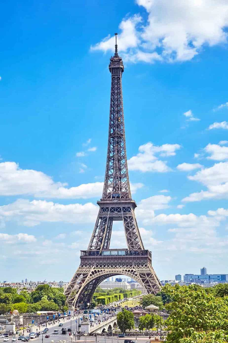 most visited tourist attractions in europe eiffel tower paris france