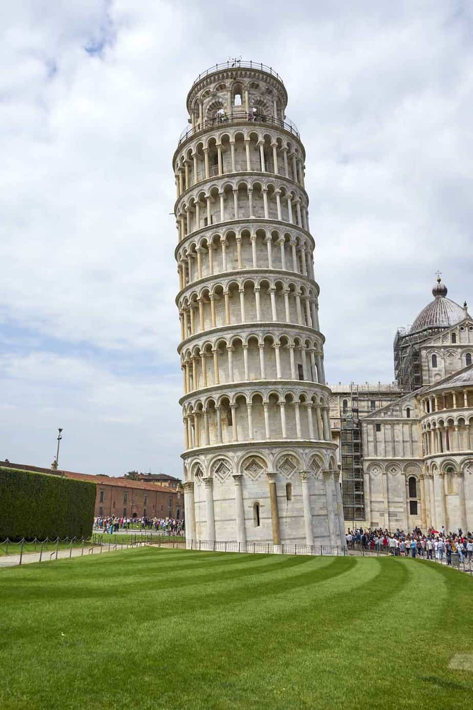 most visited tourist attractions in europe leaning tower of pisa pisa italy