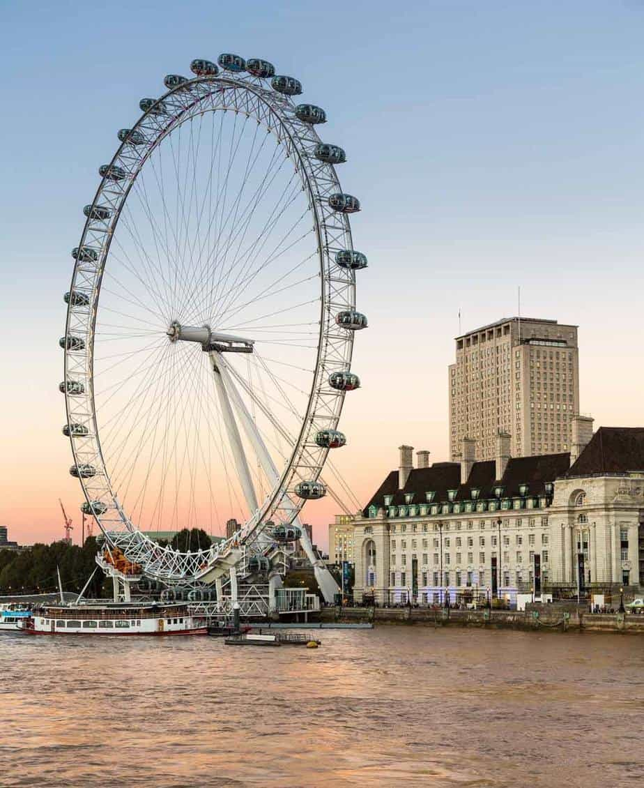 most visited tourist attractions in europe london eye london uk