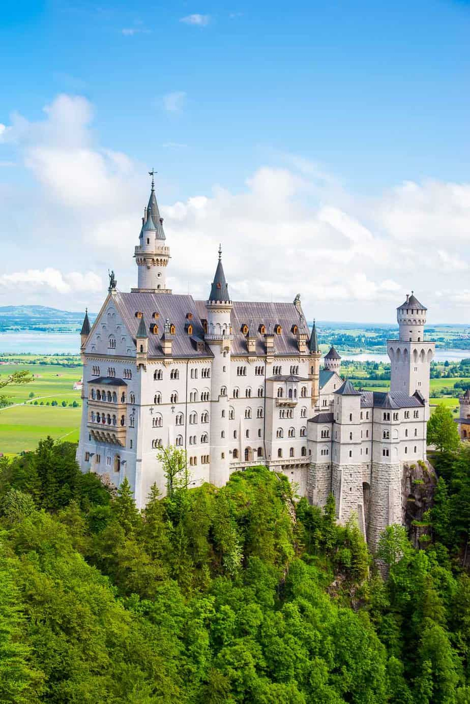 most visited tourist attractions in europe neuschwanstein castle shwangau germany