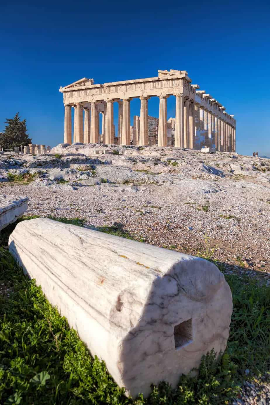 most visited tourist attractions in europe parthenon athens greece