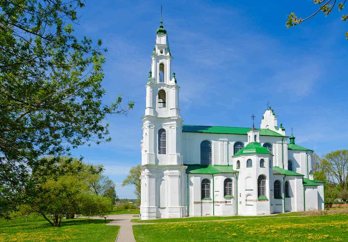 points of interest where to go and places to visit in belarus polotsk cathedral of saint sophia