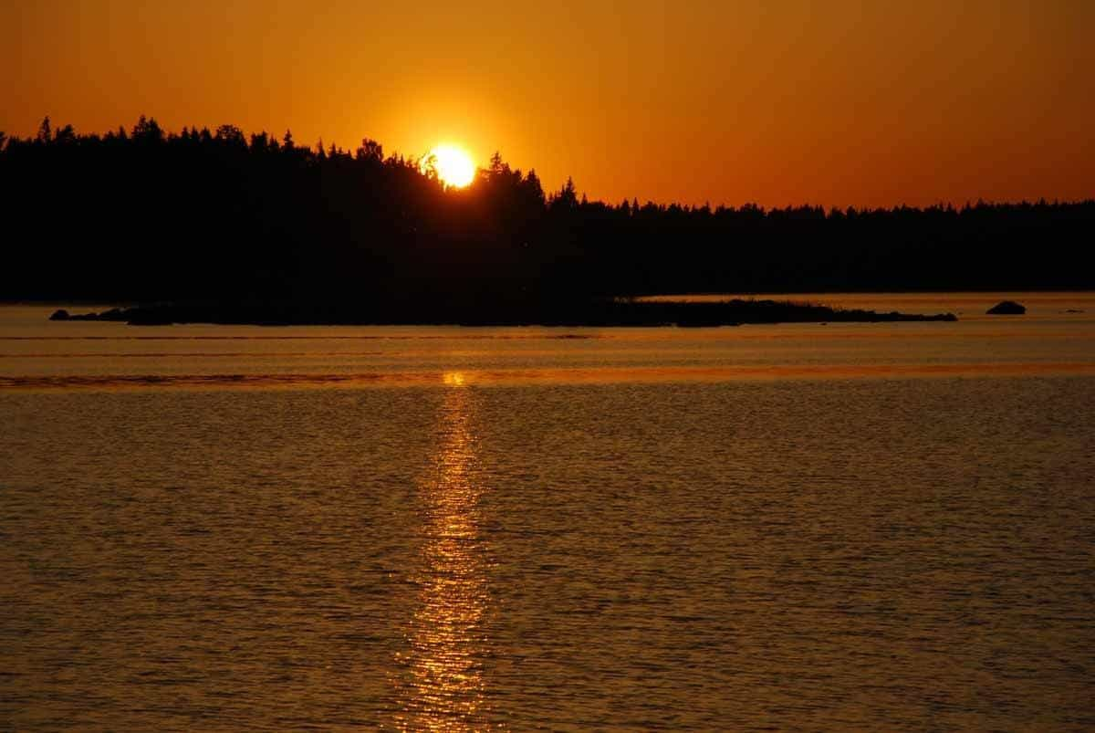 top countries in the world where to see the midnight sun sweden