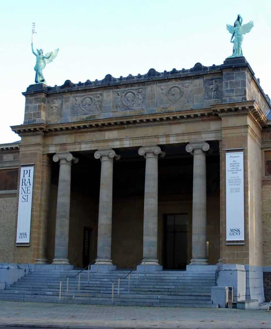 top tourist attractions and things to do in ghent belgium museum of fine arts