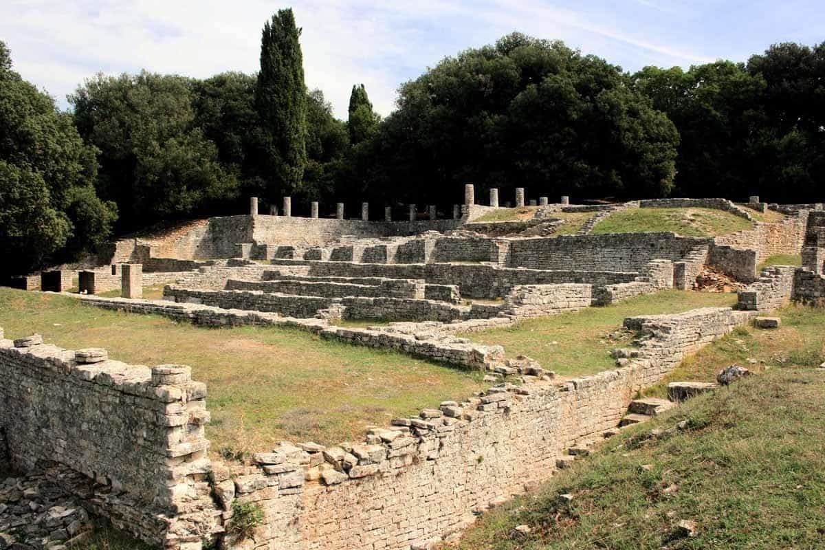 top tourist attractions in istria croatia national park of brijuni roman villa