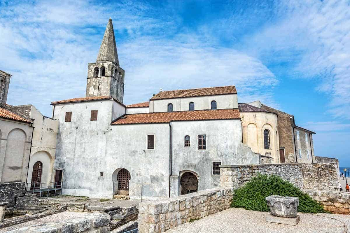 top tourist attractions in istria croatia porec euphrasian basilica