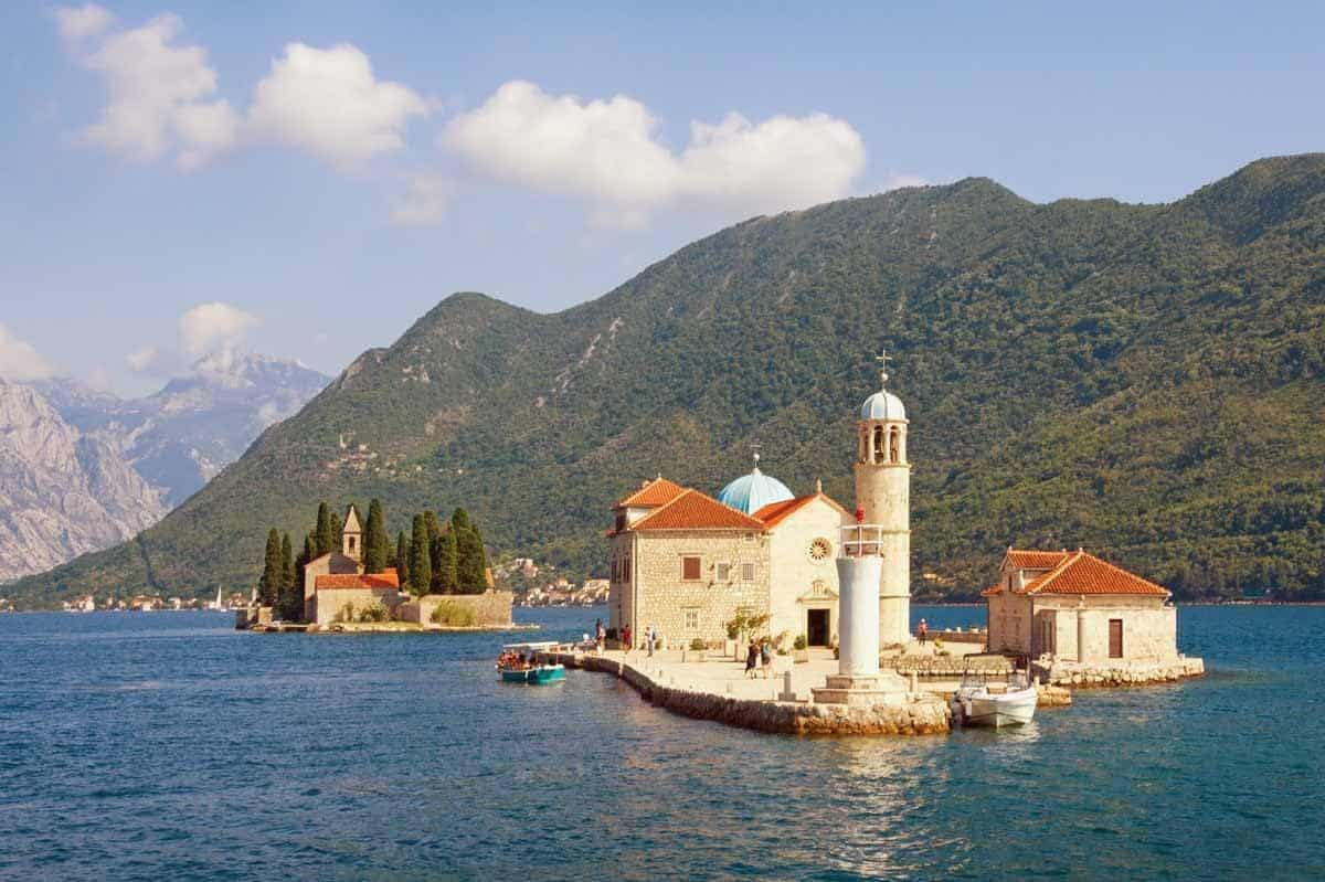 top tourist attractions in kotor montenegro our lady of the rocks