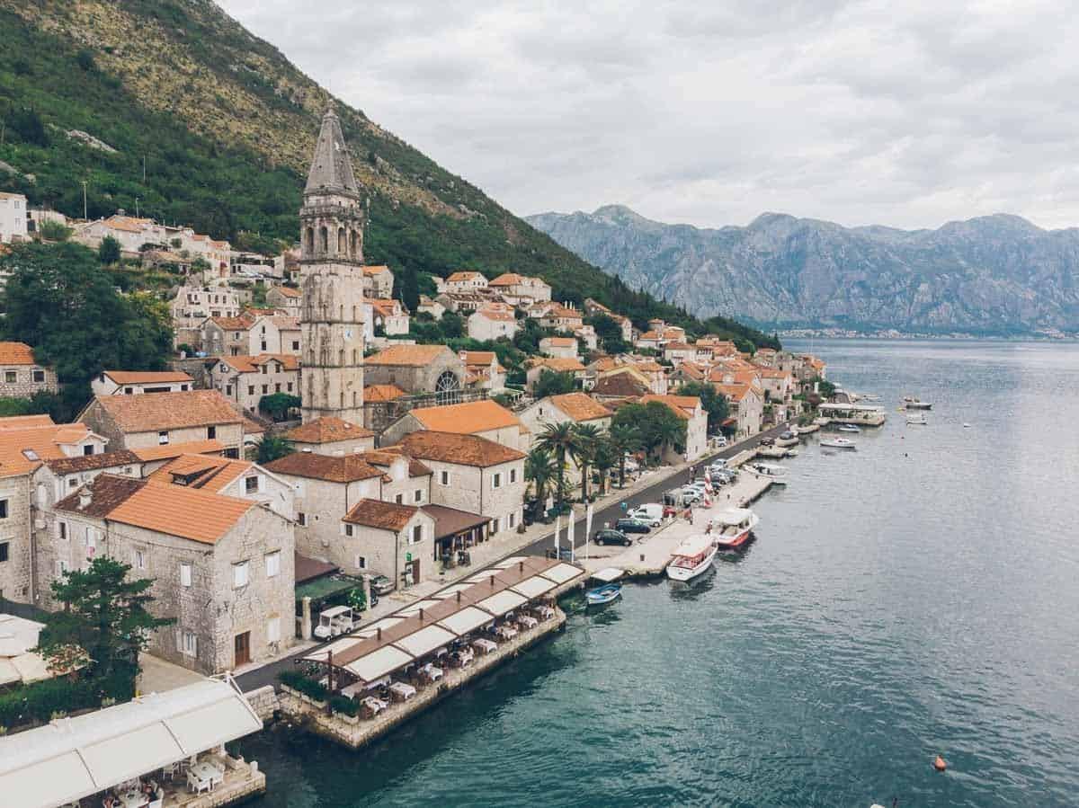 top tourist attractions in kotor montenegro perast