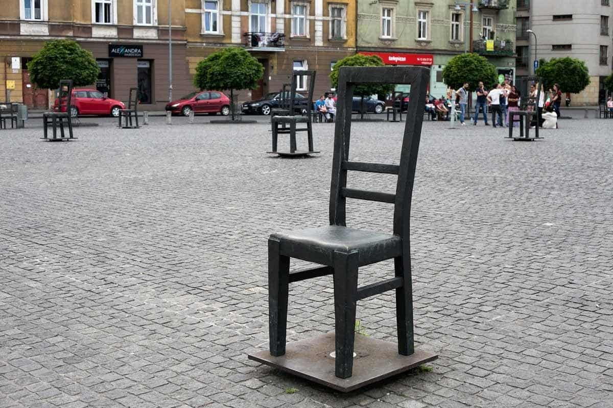 top tourist attractions in krakow poland ghetto heroes square