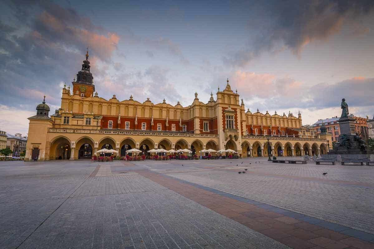 top tourist attractions in krakow poland old town cloth hall