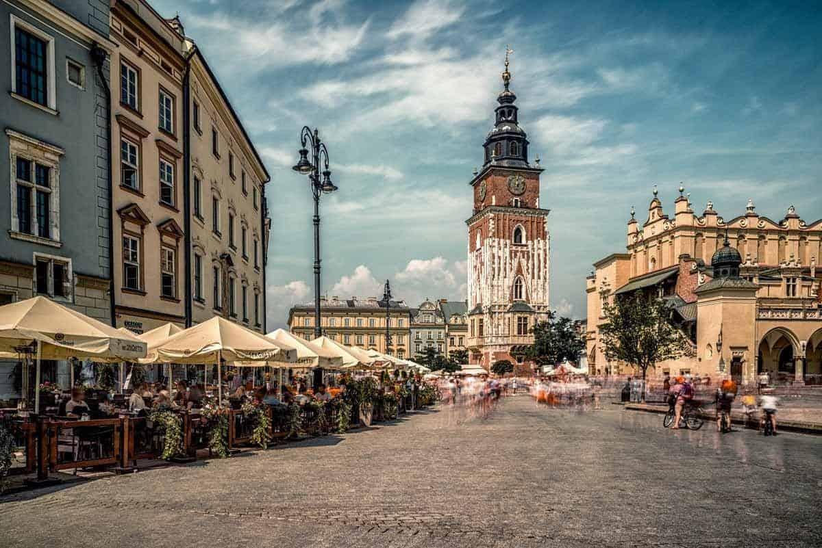top tourist attractions in krakow poland rynek glowny