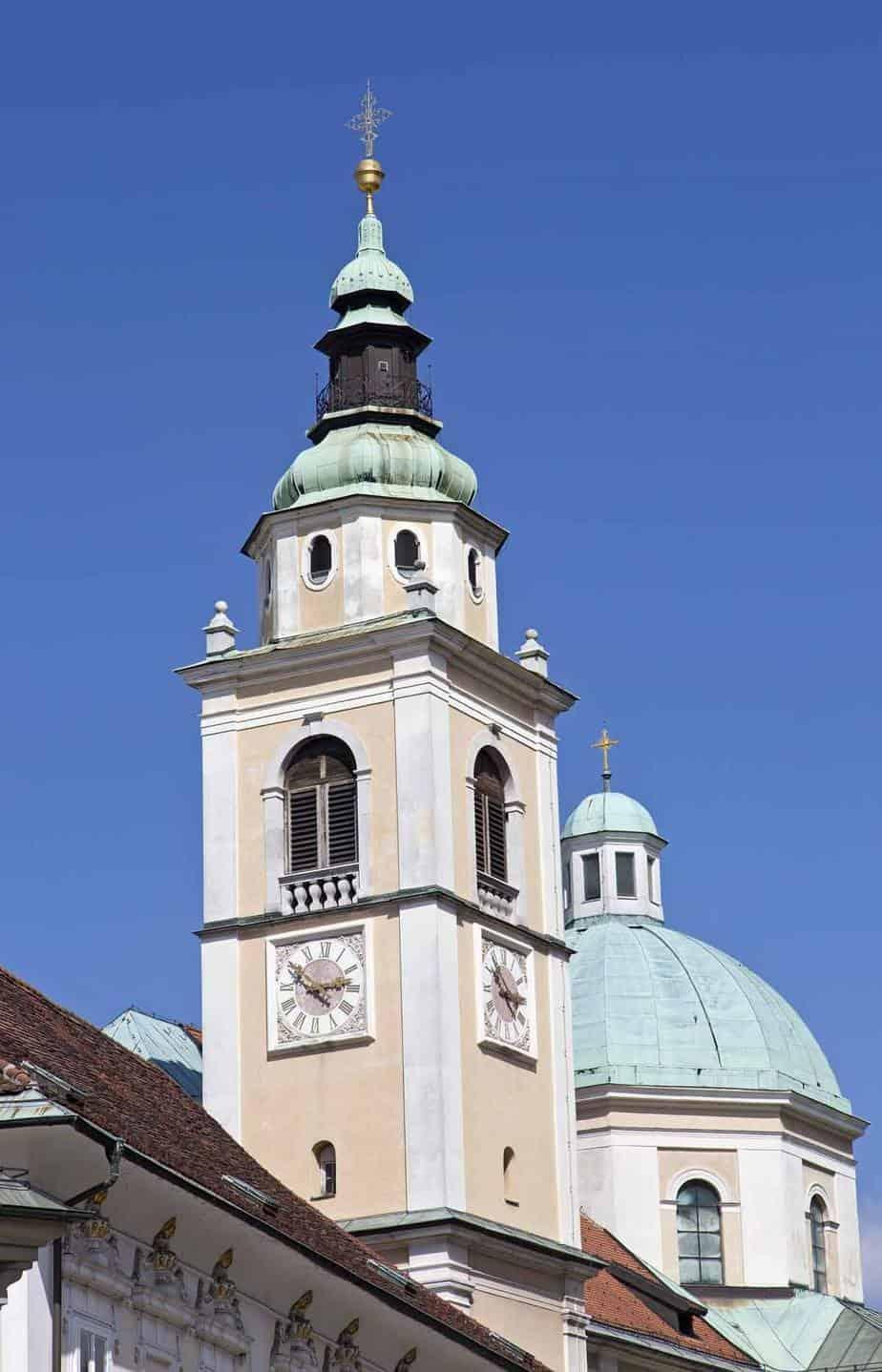 top tourist attractions in ljubljana slovenia st nicholas church