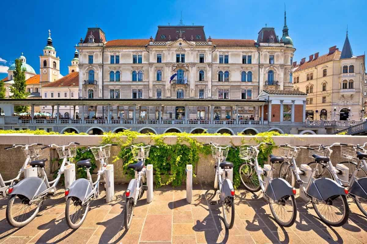 top tourist attractions in ljubljana slovenia tourist bikes