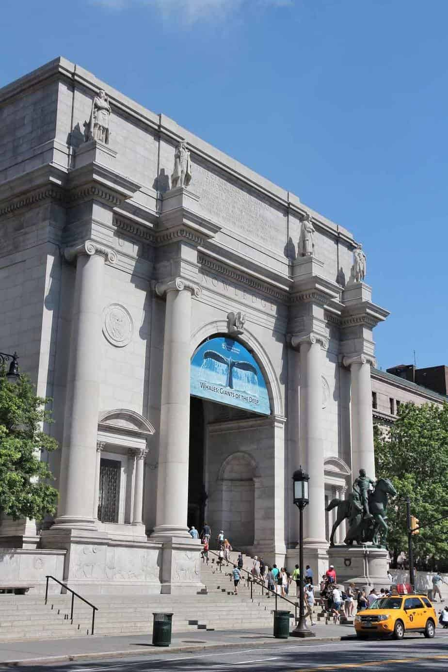 top tourist attractions in new york city usa american museum of natural history