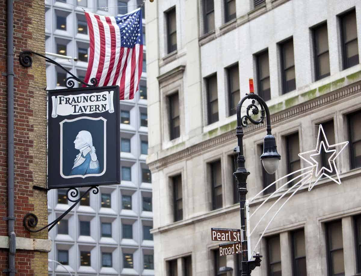 top tourist attractions in new york city usa fraunces tavern
