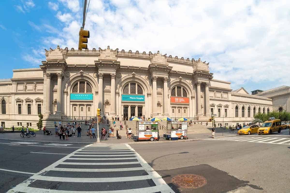 top tourist attractions in new york city usa metropolitan museum of art