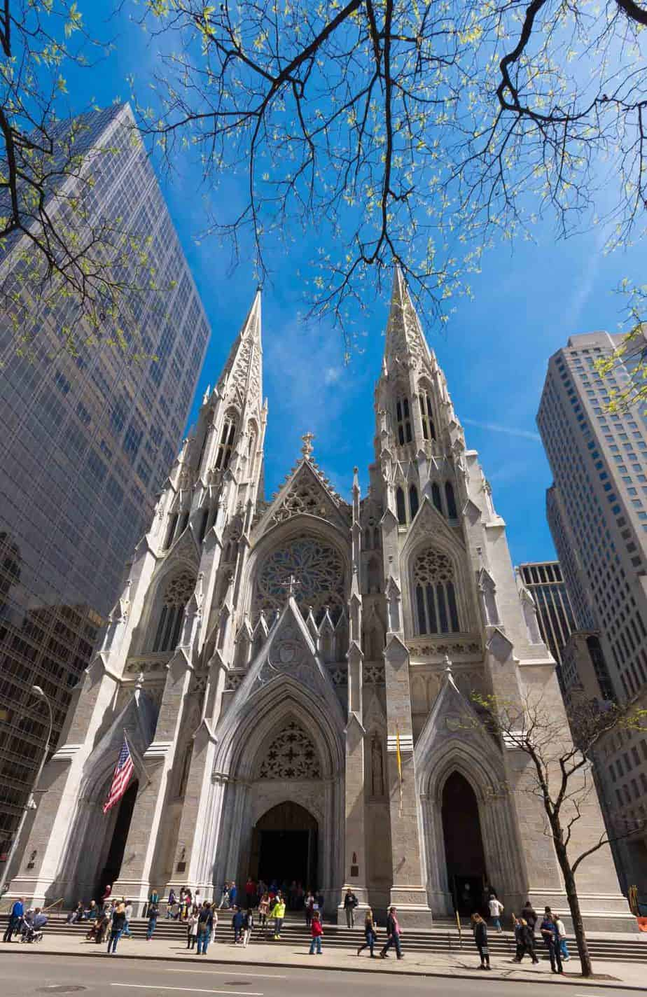 top tourist attractions in new york city usa st patrick cathedral