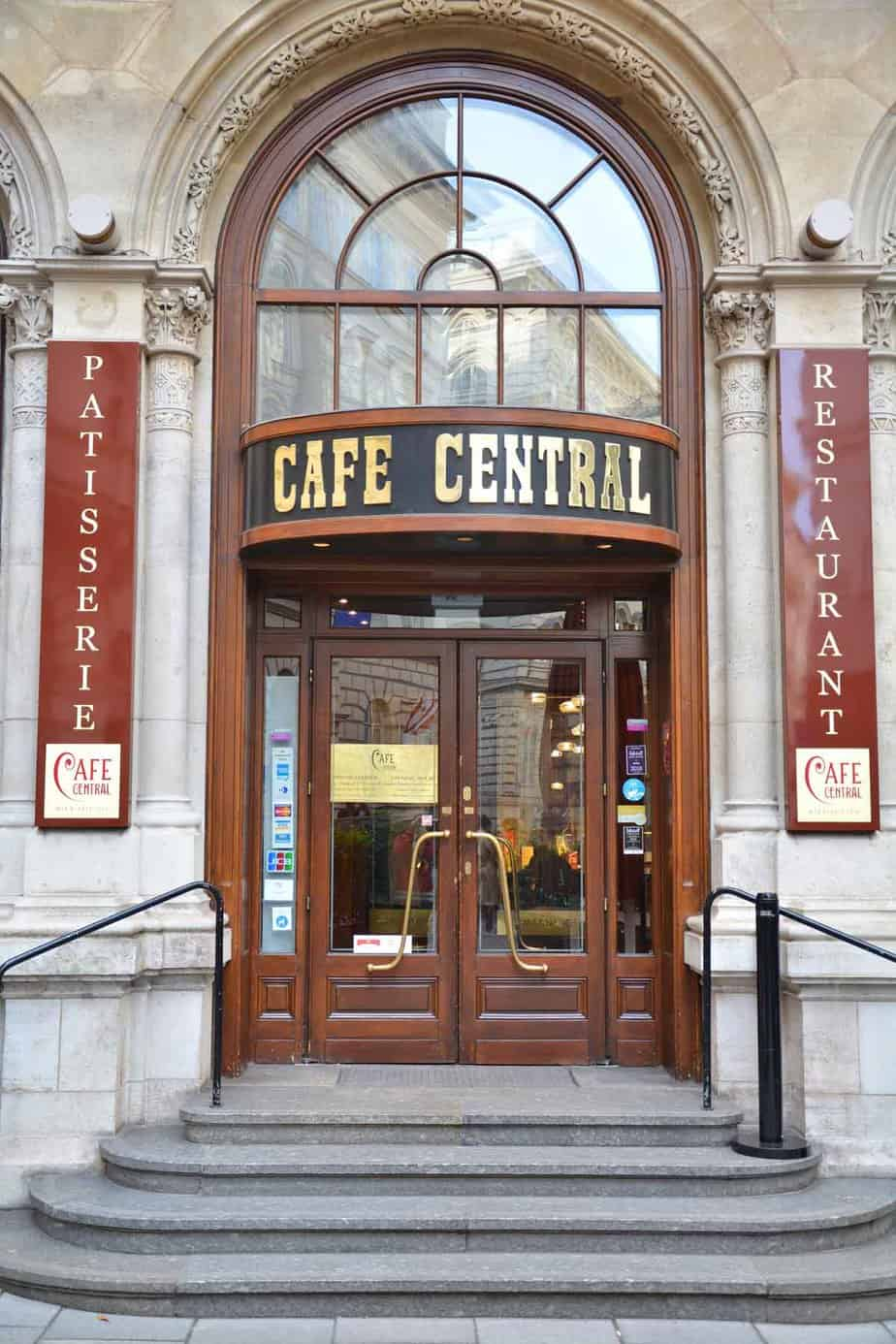 top tourist attractions in vienna austria cafe central