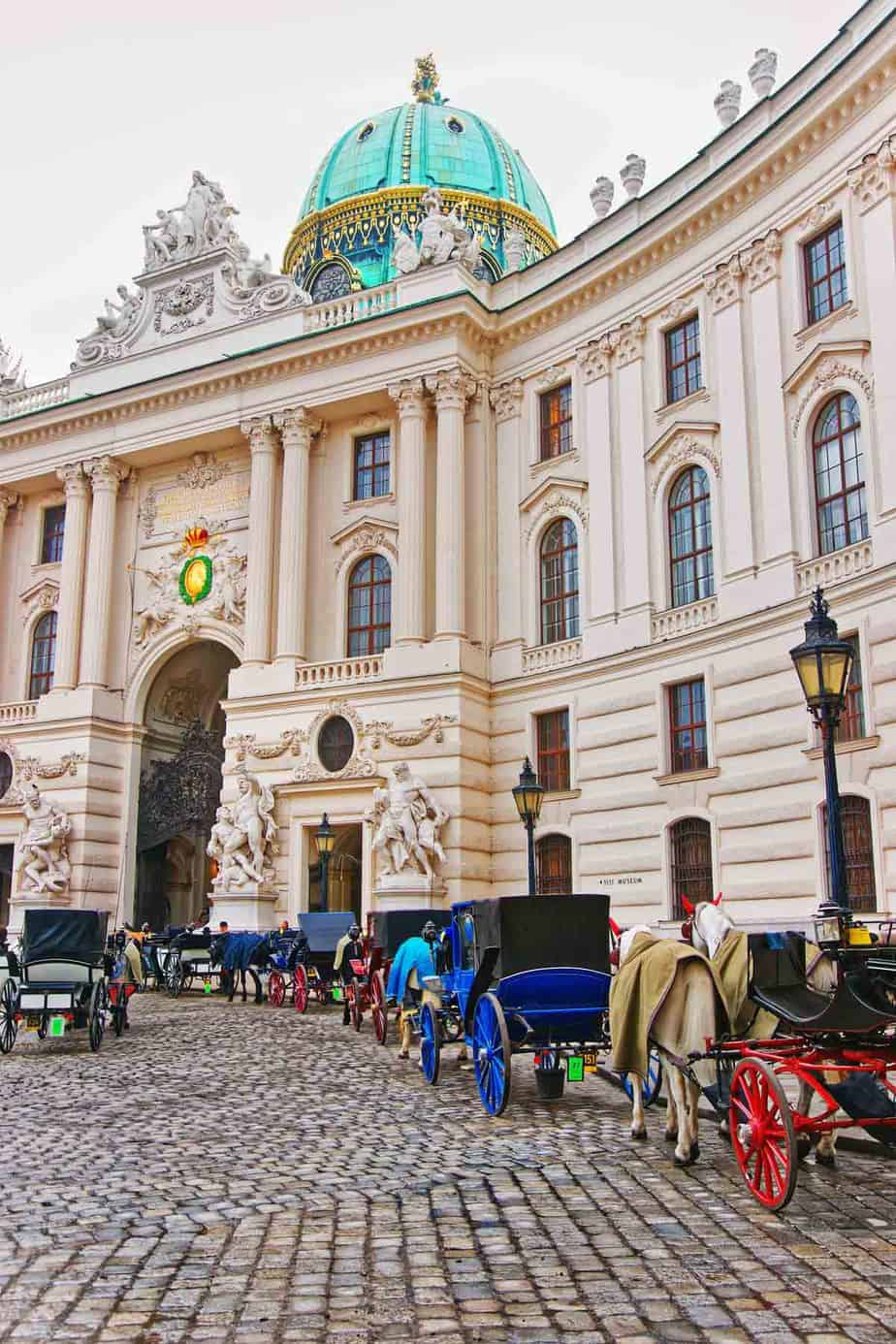 top tourist attractions in vienna austria hofburg palace