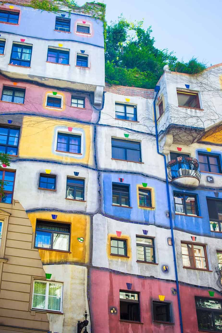 top tourist attractions in vienna austria hundertwasserhaus
