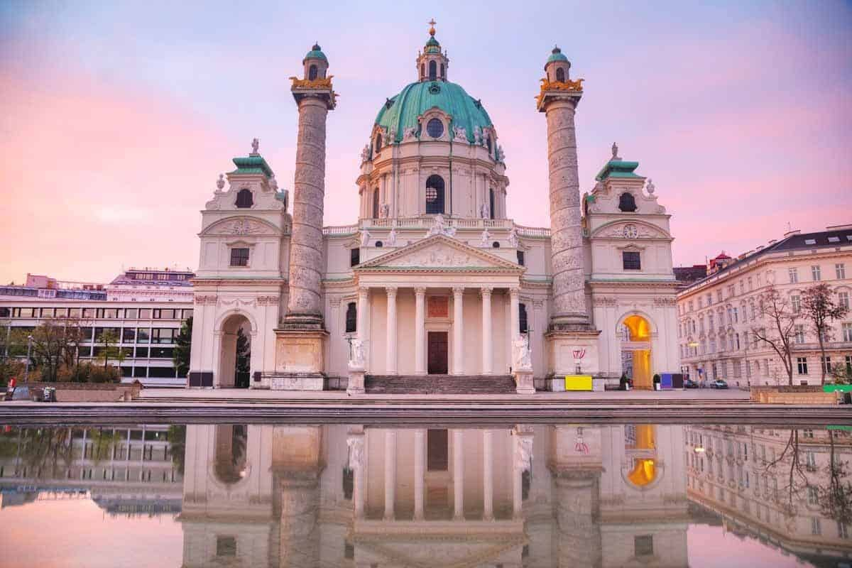 top tourist attractions in vienna austria karlsplatz st charles church