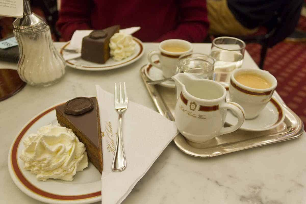 top tourist attractions in vienna austria sacher cake