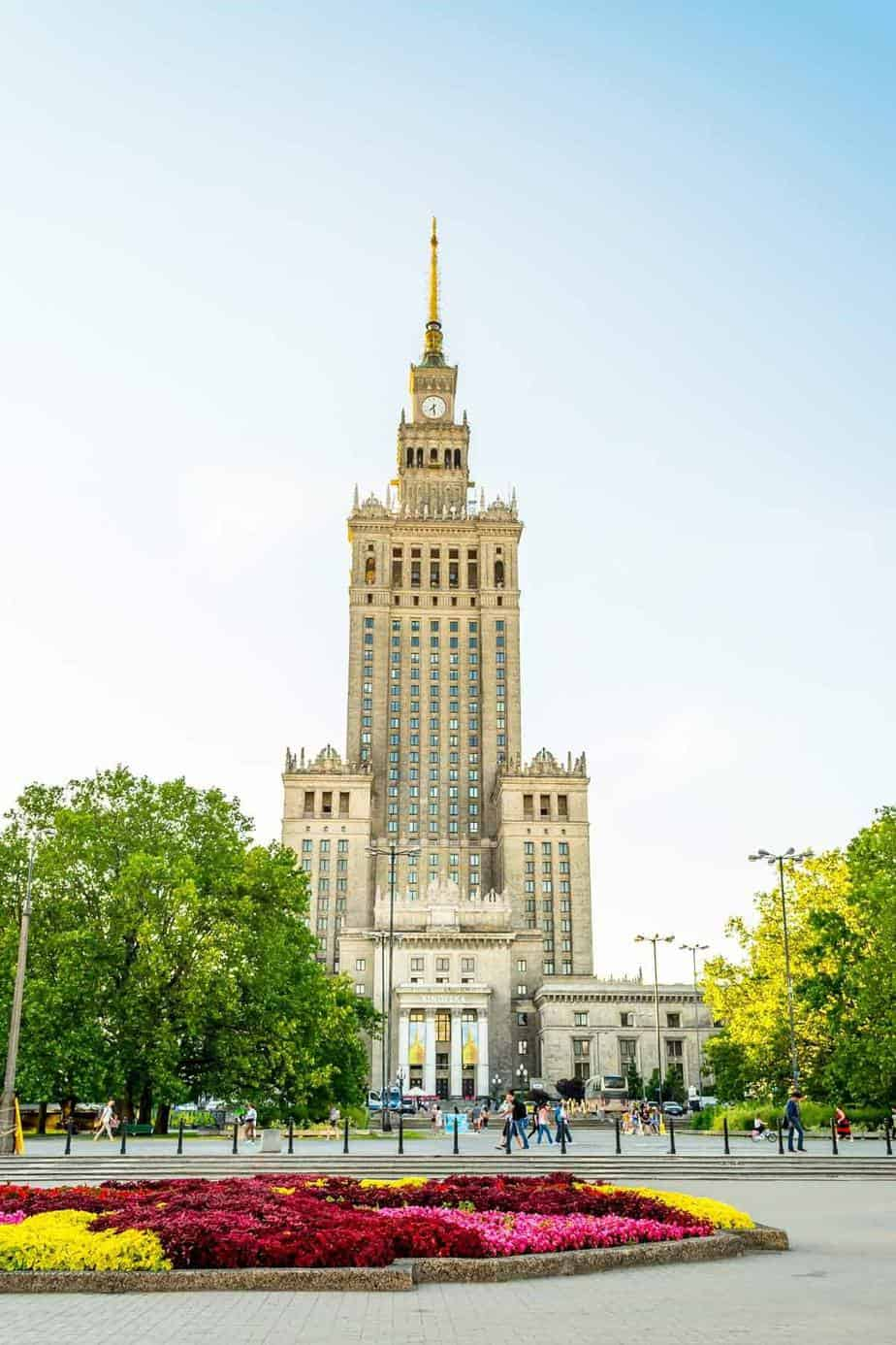 top tourist attractions in warsaw poland culture and science palace