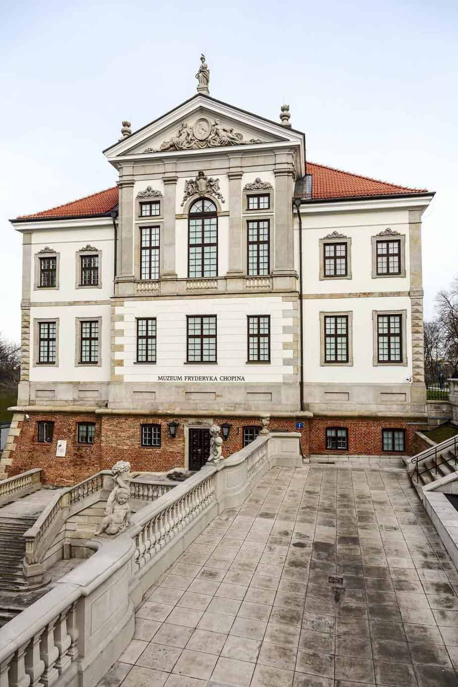 top tourist attractions in warsaw poland fryderyk chopin museum