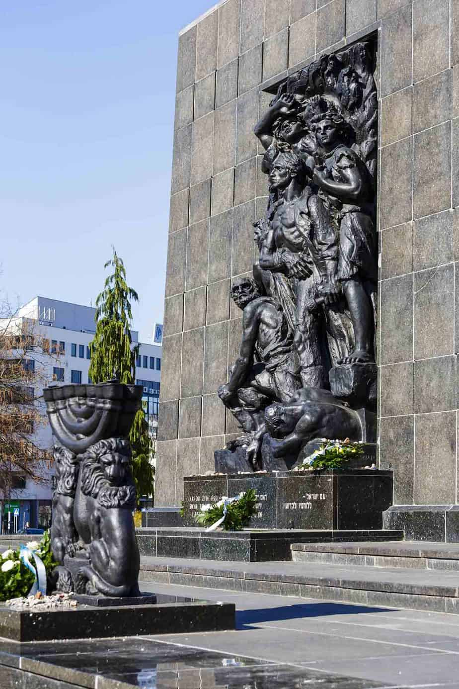 top tourist attractions in warsaw poland ghetto heroes monument