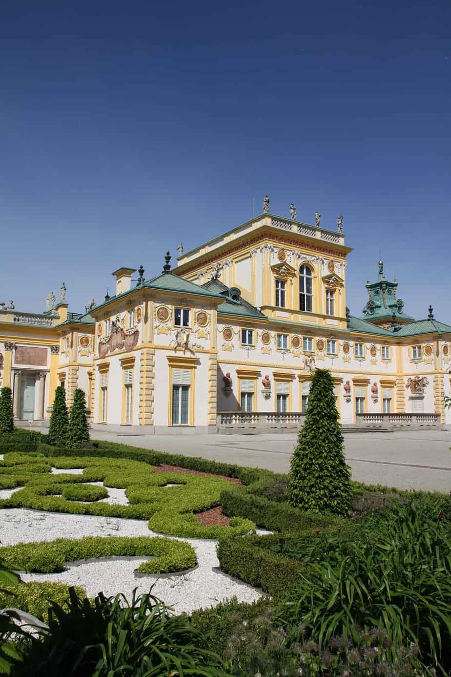 top tourist attractions in warsaw poland wilanow palace