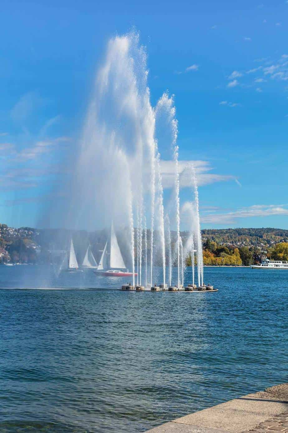 top tourist attractions in zurich switzerland lake zurich
