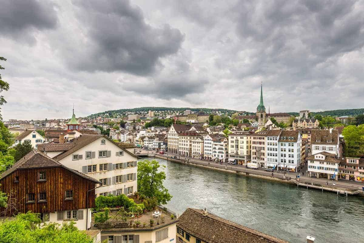 top tourist attractions in zurich switzerland old town lindenhof