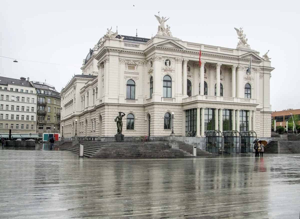 top tourist attractions in zurich switzerland opera house