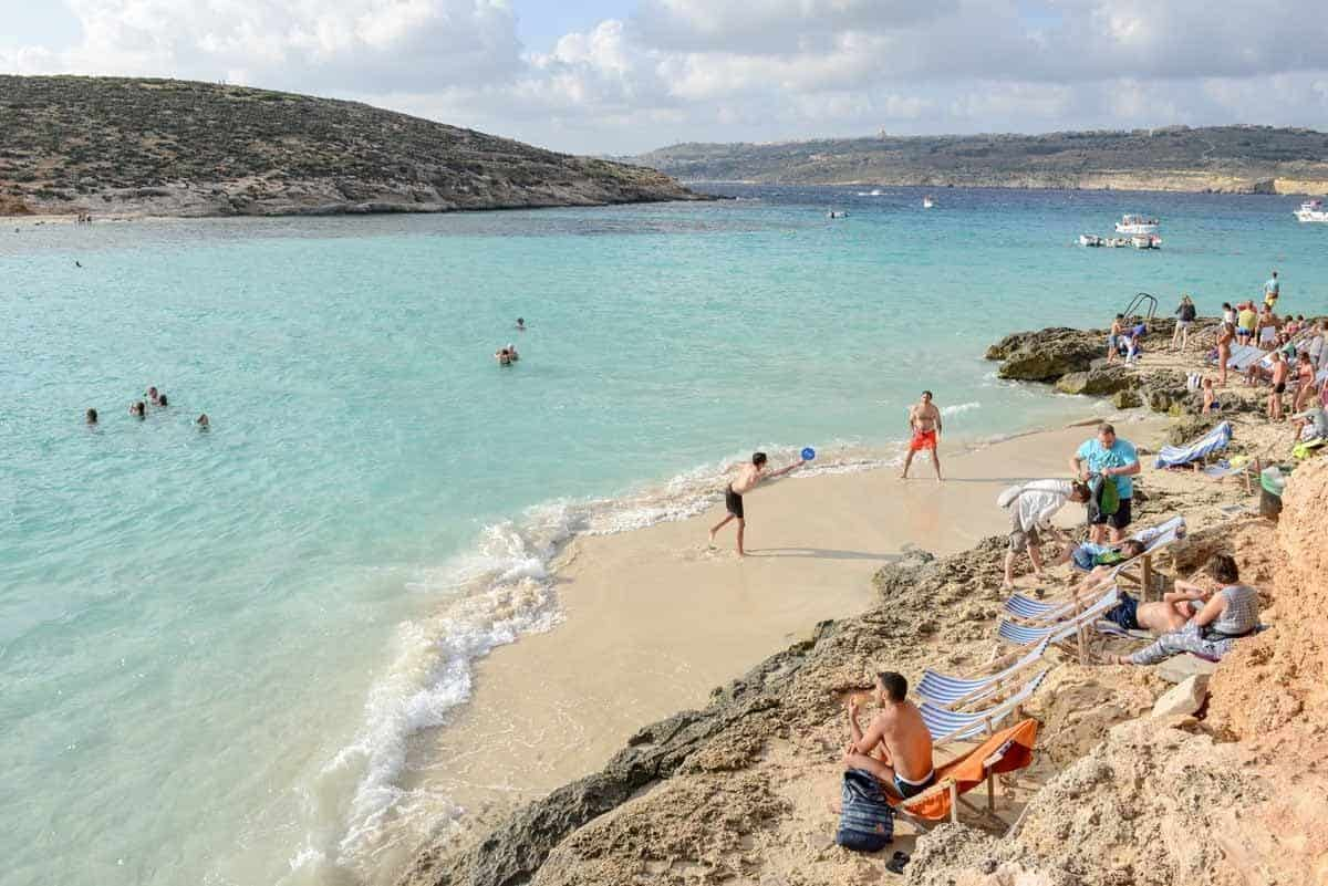 best beaches to visit in europe blue lagoon malta