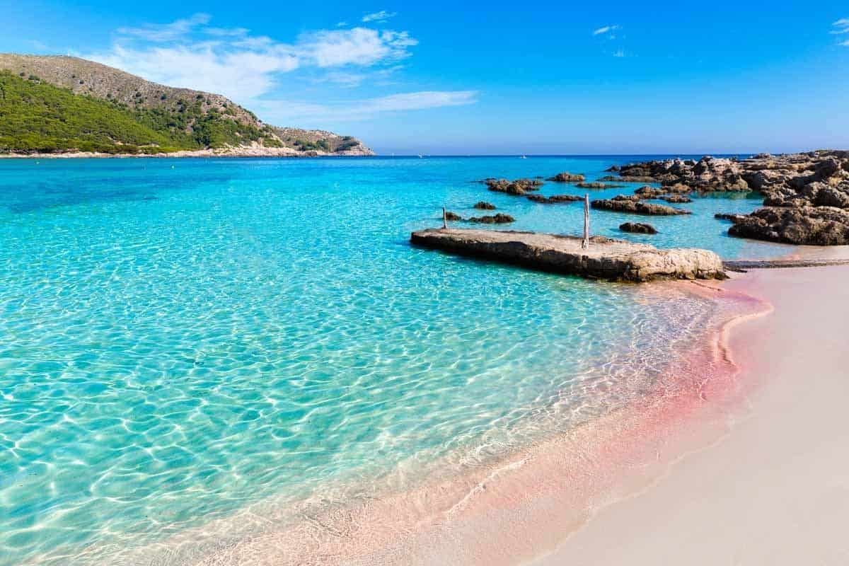 best beaches to visit in europe cala agulla beach mallorca spain