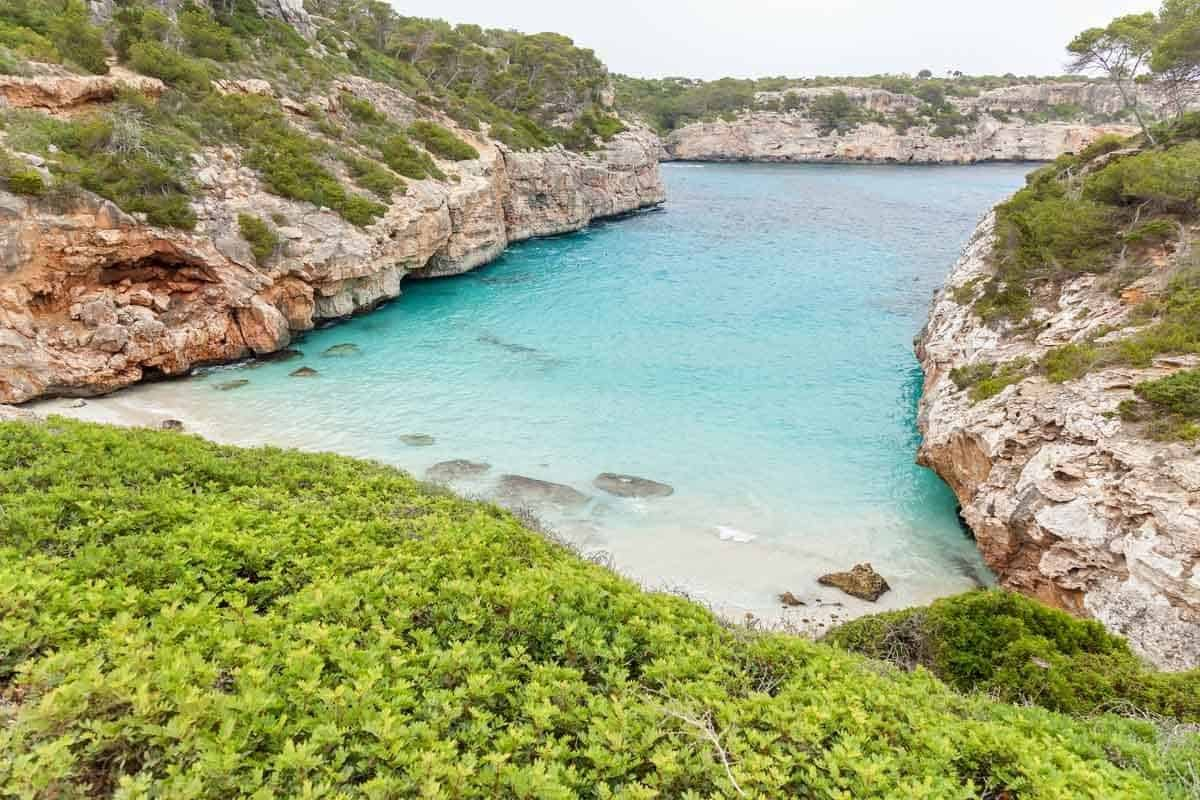 best beaches to visit in europe calo des moro mallorca spain