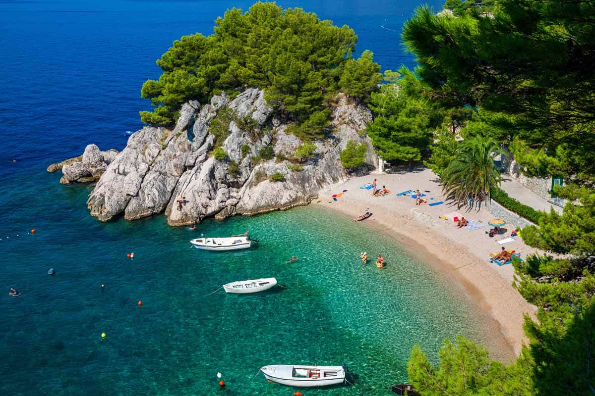 best beaches to visit in europe podrace beach croatia