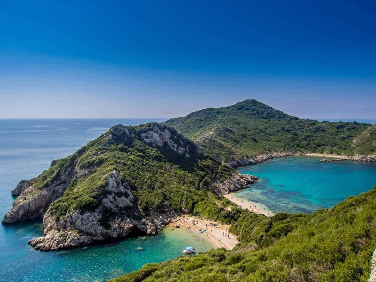 best beaches to visit in europe porto timoni beach corfu greece