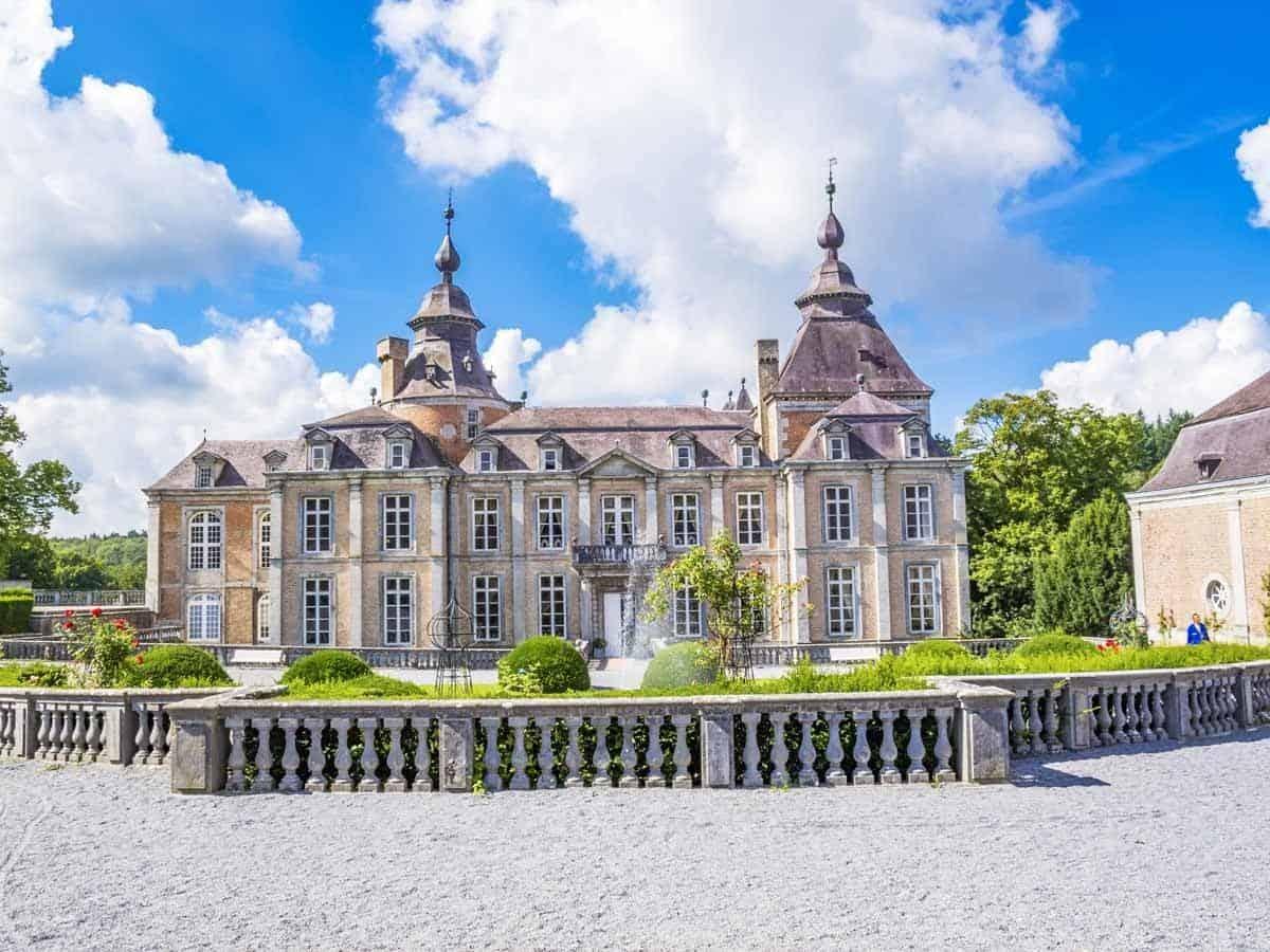 castles in belgium domaine du chateau de modave