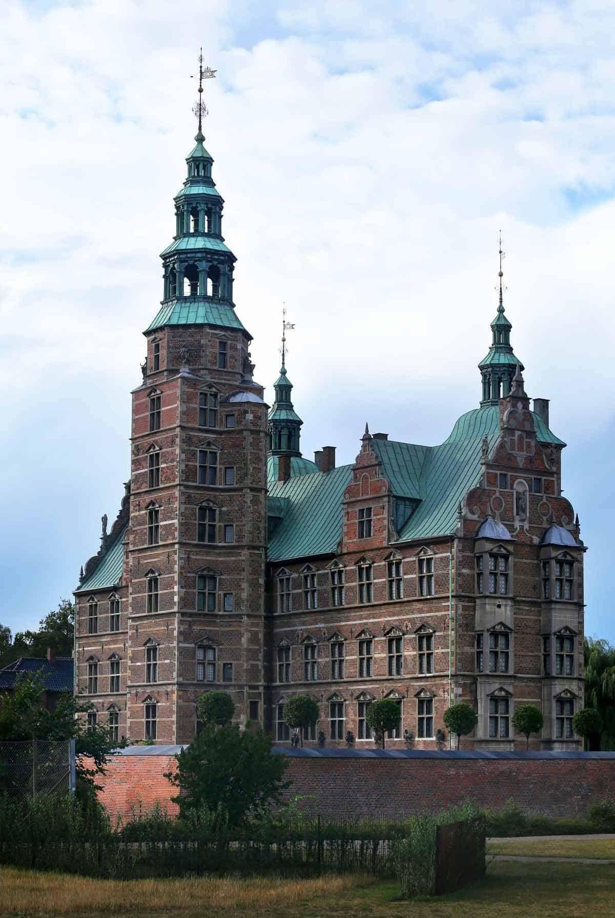 castles in denmark rosenborg castle