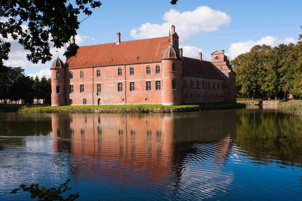 castles in denmark rosenholm castle